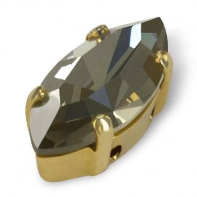 NAVETTA MM15x7 BLACK DIAMOND-ORO-3PZ