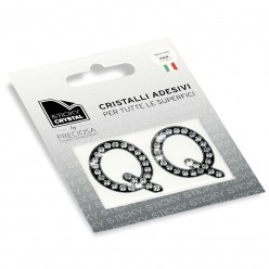 STICKY CRYSTAL® COLLECTION LETTERA Q