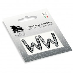 STICKY CRYSTAL® COLLECTION LETTERA W