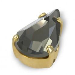 DROP MM13x8 SCHWARZ DIAMOND-GOLD-5PZ