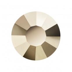 PRECIOSA THERMOADHESIVE SS16 (4 mm) STARLIGHT GOLD-Pack of 144