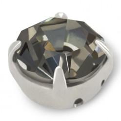 RHINESTONE MAXIMA SS40 BLACK DIAMOND-silver-20pcs