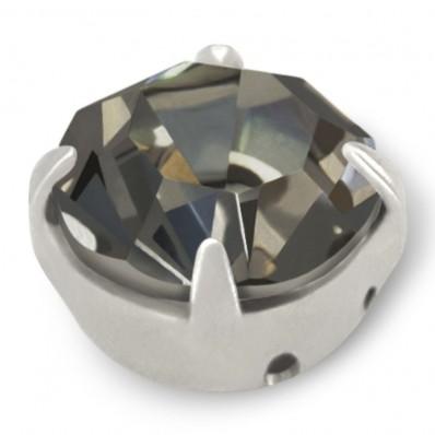 STRASS MAXIMA SS40 BLACK DIAMOND-ARGENTO-20PZ
