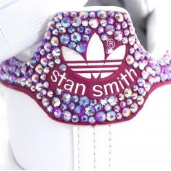 Adisas Stan Smith Pink con Strass Preciosa