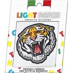 Light Patch Tigre Sticker Cristalli Crystal