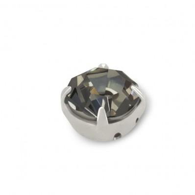 STRASS MAXIMA SS20 BLACK DIAMOND-ARGENTO-40PZ