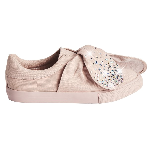 Sneakers cristal rose