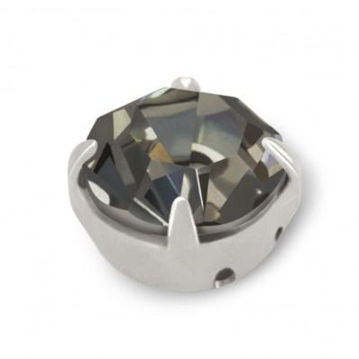 STRASS MAXIMA SS30 BLACK DIAMOND-ARGENTO-20PZ