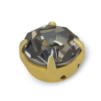 STRASS MAXIMA SS30 BLACK DIAMOND-ORO-20PZ