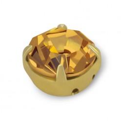 STRASS MAXIMA SS30 LIGHT COL. TOPAS-GOLD-20PZ