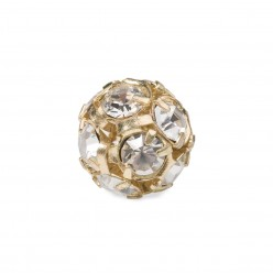 PRECIOSA CRYSTAL-BALL-Pack 5 GOLD PIECES MM8