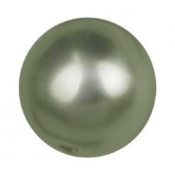 PERLA TONDA MM8 DARK GREEN-40PZ