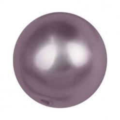 PERLA TONDA MM8 LIGHT BURGUNDY-40PZ