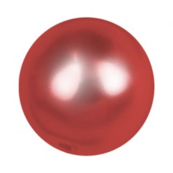PERLA TONDA MM8 RED-40PZ
