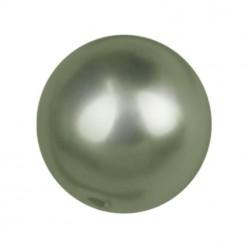 PERLA TONDA MM6 DARK GREEN-40PZ