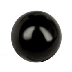 PERLA TONDA MM6 BLACK-40PZ