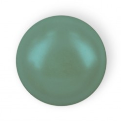 MEZZA PERLA TONDA MM6 GREEN HOT FIX-144PZ