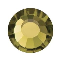 STRASS PRECIOSA THERMOAD AUFKLEBER SS20 (5MM) GOLD BERYL-144PZ