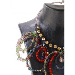 COLLANA CIRCLE con accessori Preciosa